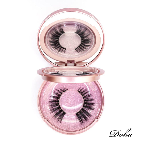Viciley Magnetic Lashes Kit - DOHA/Fierce Cat-Eye Look - Vicileycosmetic