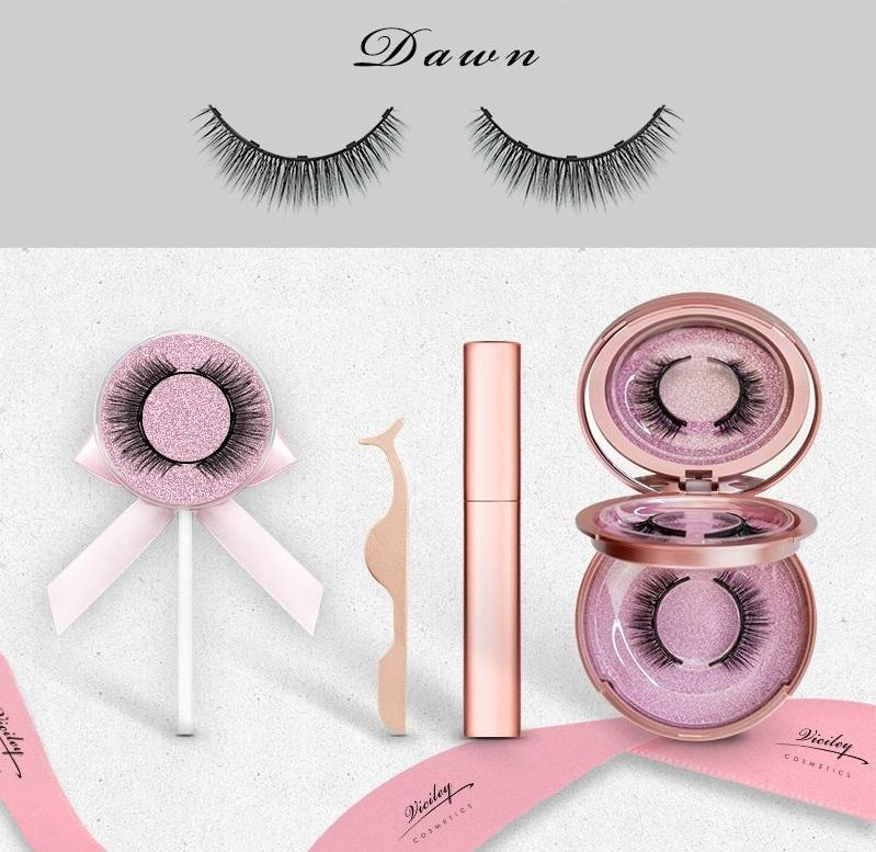Viciley Magnetic Lashes Kit - DAWN/The Most Natural-Looking Style - Vicileycosmetic