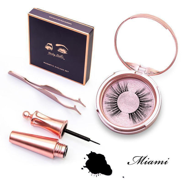 Viciley Magnetic Lashes Kit - MIAMI - Vicileycosmetic