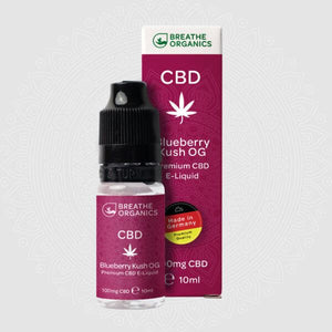 Blueberry OG Kush 300mg CBD Vape Juice