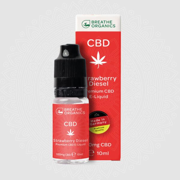 Strawberry Haze 300mg CBD Vape Juice