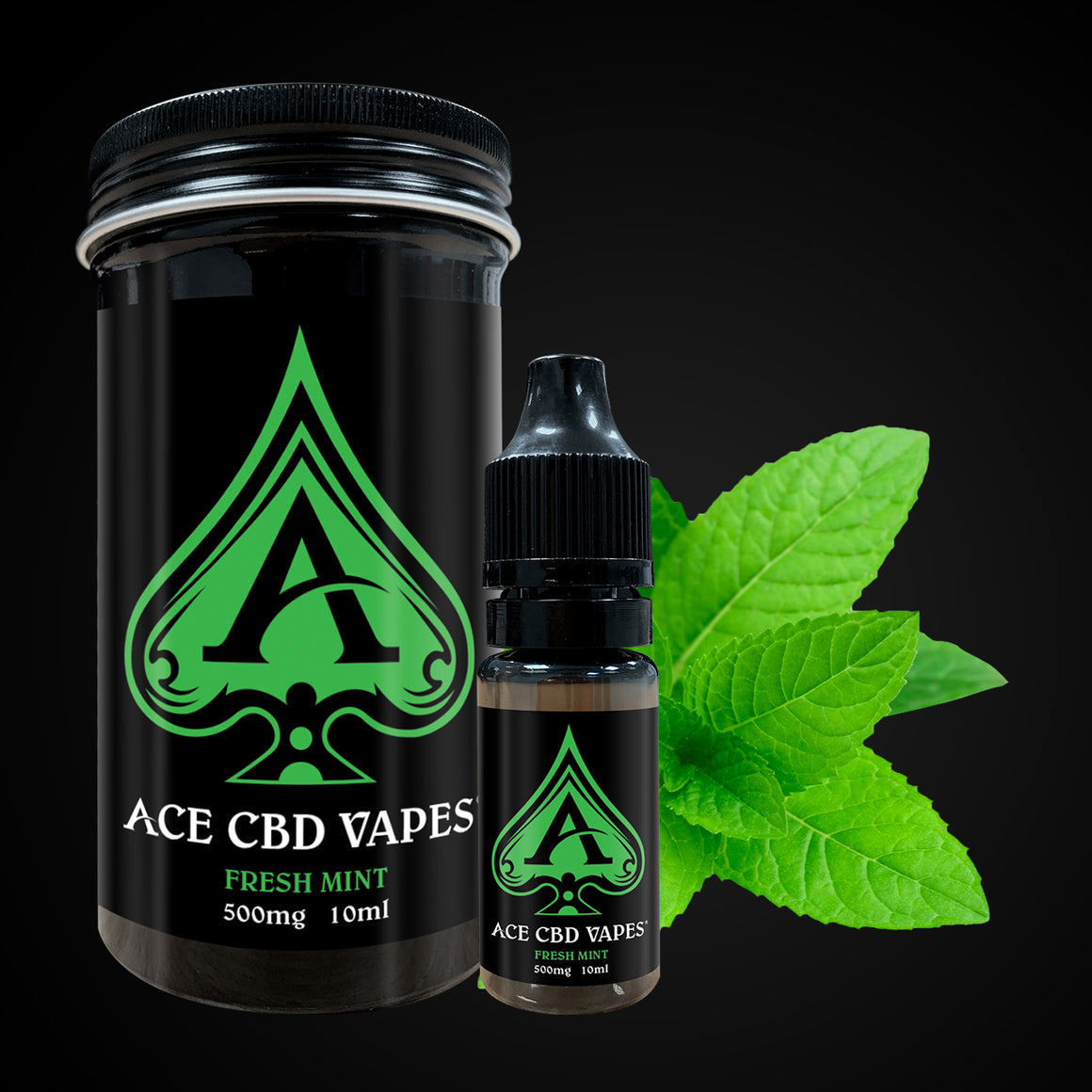 Ace CBD Vape Fresh Mint | CBDelites | Free UK Shipping