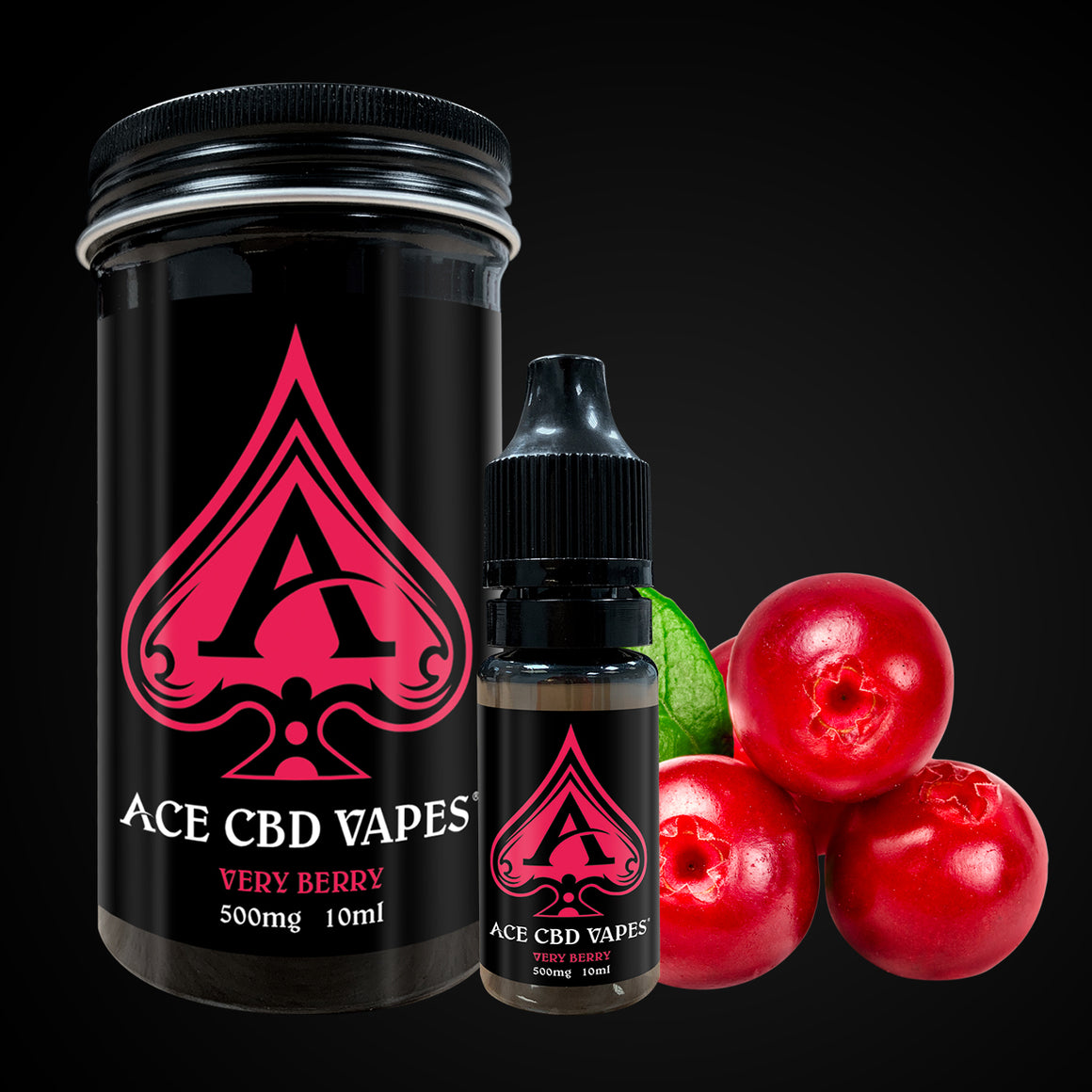 Ace CBD Vape Very Berry | CBDelites | Free UK Shipping