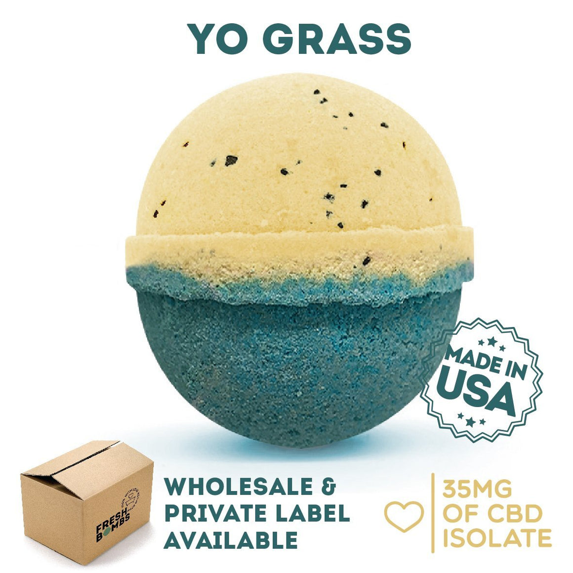 Fresh Bombs CBD Yograss | CBDelites | Free UK Shipping