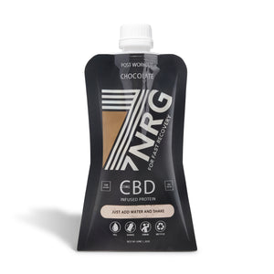 7NRG Post Workout CBD Protein Shake | CBDelites