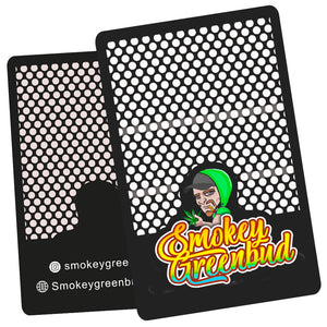 Smokey Greenbud Grinder Card