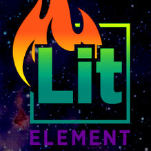 Lit by Element | CBDelites | Free UK Shipping