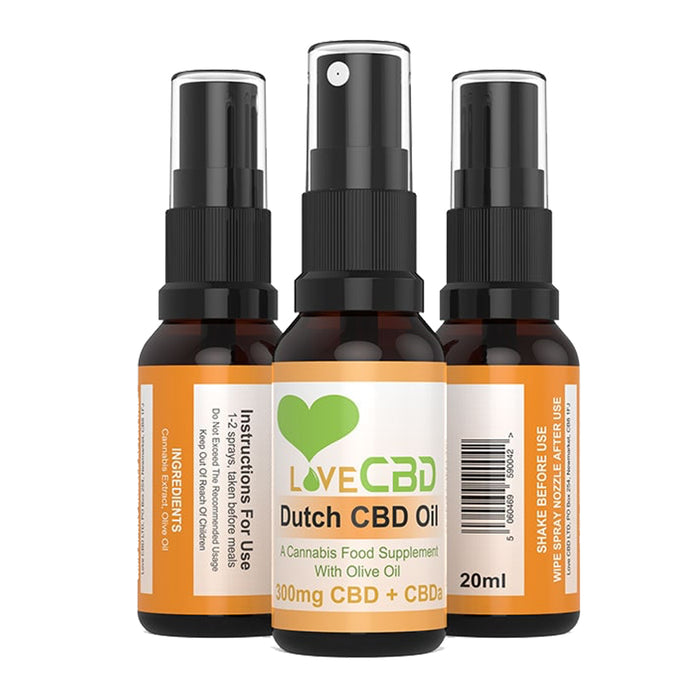 Love CBD Dutch Oil | CBDelites | Free UK Delivery