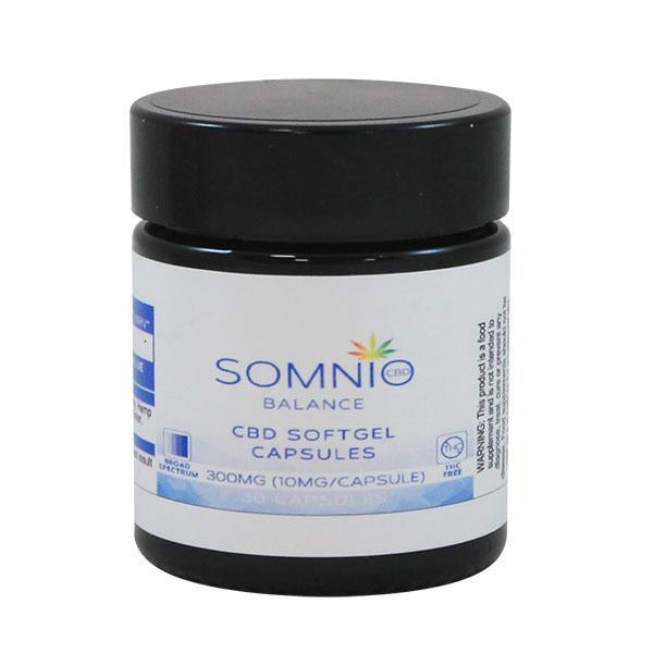 Somnio Soft Gel CBD 10mg x 30 Capsules