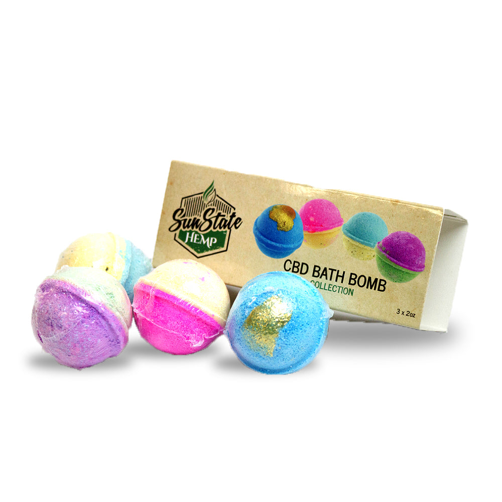 Sunstate Hemp CBD Bath Bomb | CBDelites | Free UK Shipping