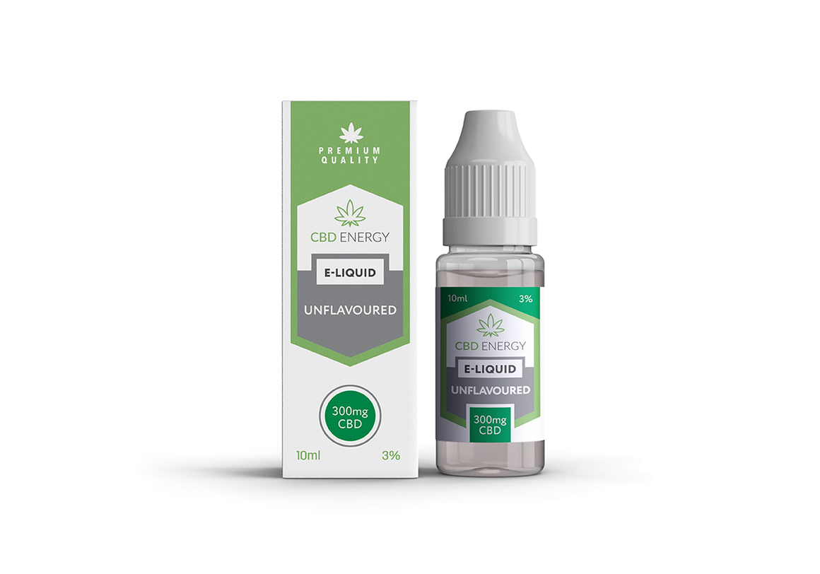 CBD Energy Vape Unflavoured 300mg