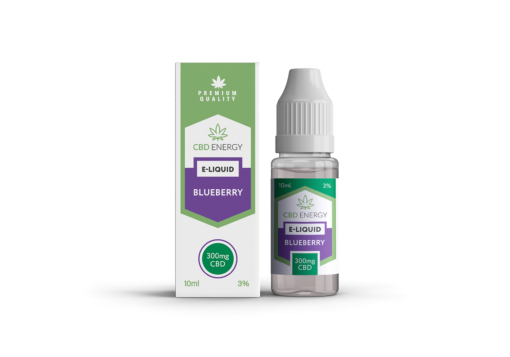 CBD Energy Vape Blueberry 300mg