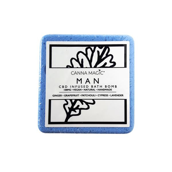 Canna Magic 100mg Bath Bomb - Man