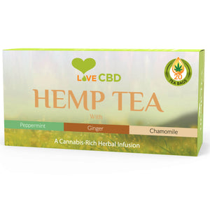 Love CBD Tea Bags Mix