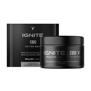 Ignite CBD Tattoo Balm | CBDelites