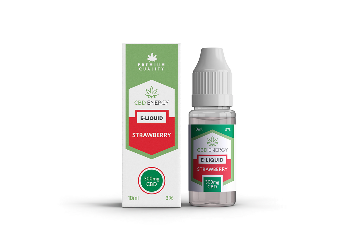 CBD Energy Vape Strawberry 300mg