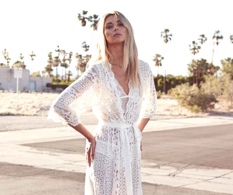 Behind the Scenes: Bohemian Palm Springs Photoshoot