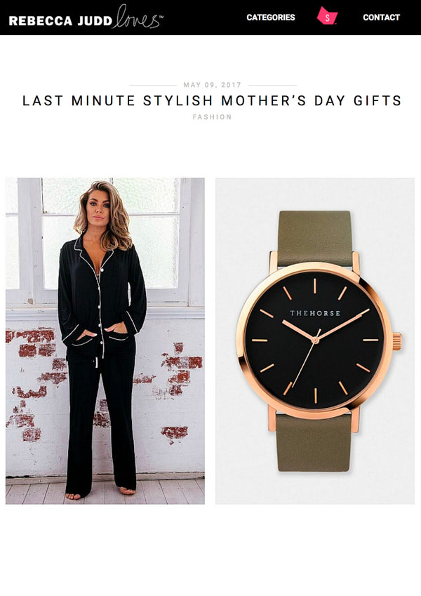 Rebecca Judd Loves: Last Minute Stylish Mother's Day Gifts
