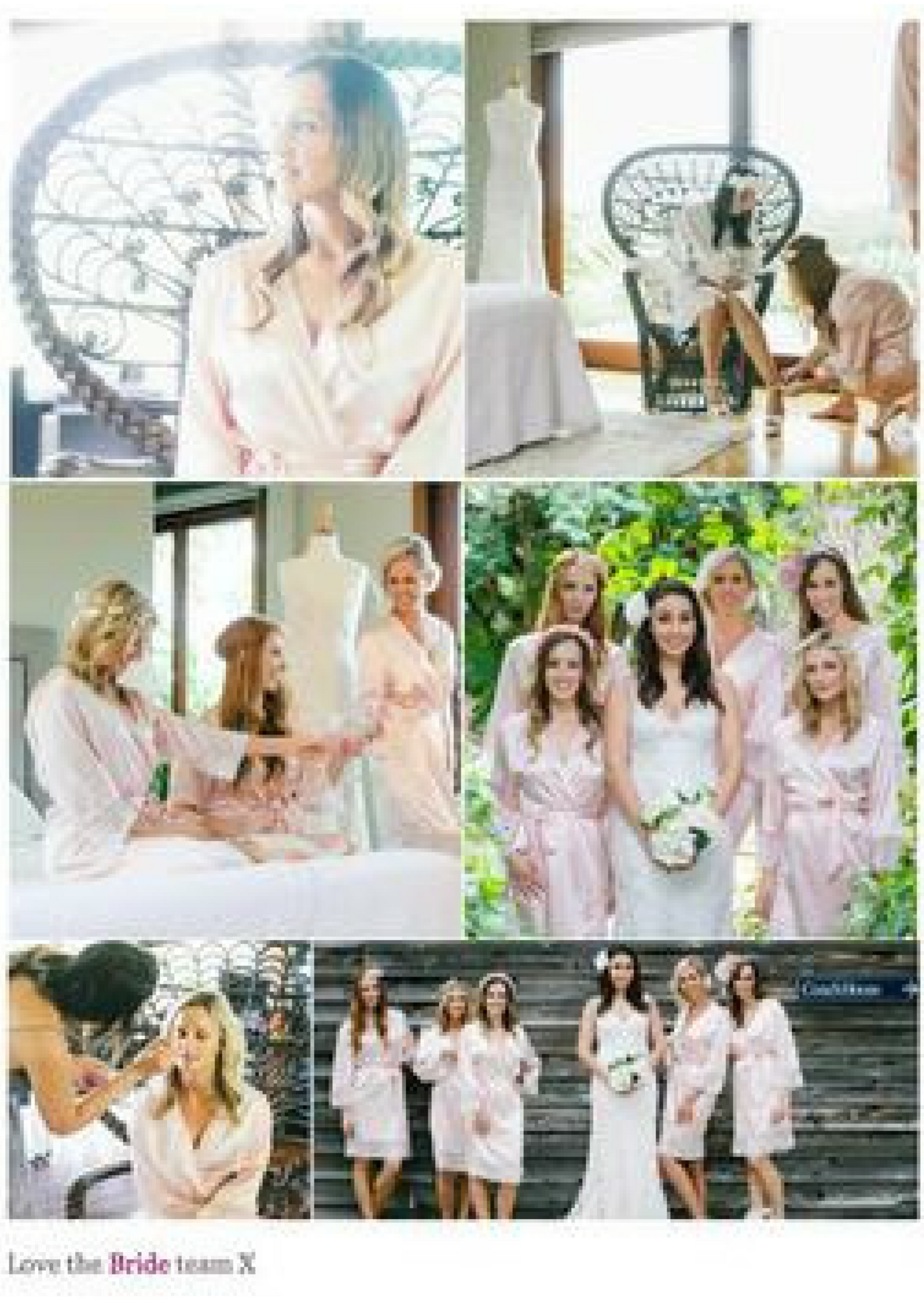 The Bridal Blog, Bride Australia: Cute wedding robes for the big day.