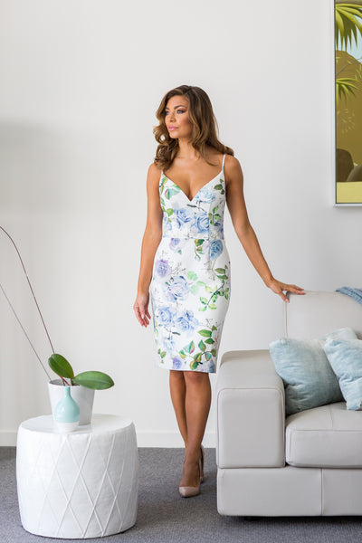 Homebodii Amalia Floral Dress