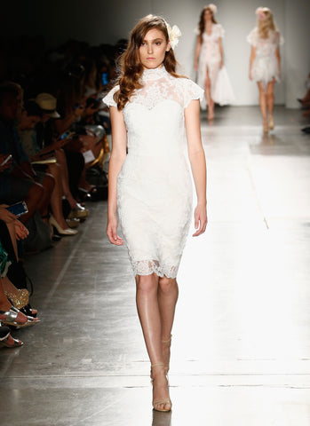 Suzette Lace Dress Ivory NYFW