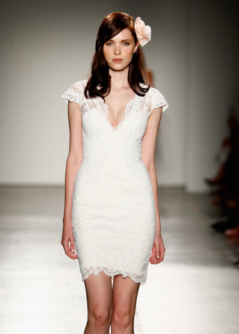 Sara Lace Dress NYFW Debut