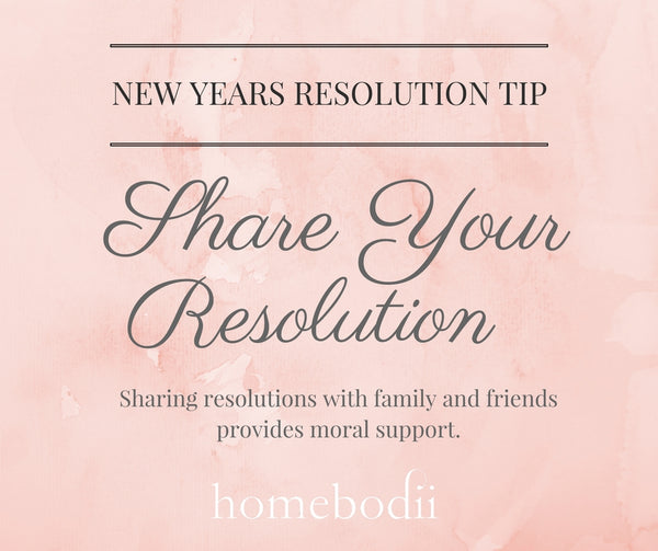 New Year's Resolution: Share your resolution