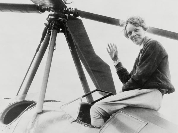 Homebodii's Most Inspiring Women - Amelia Earhart