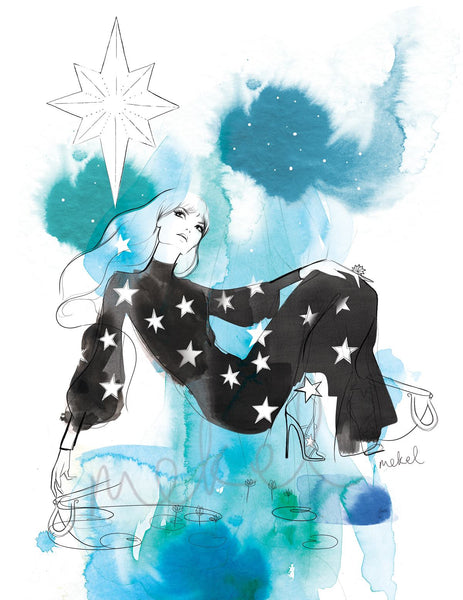 At Home with Homebodii: Australian Fashion Illustrator Mekel Illustrations