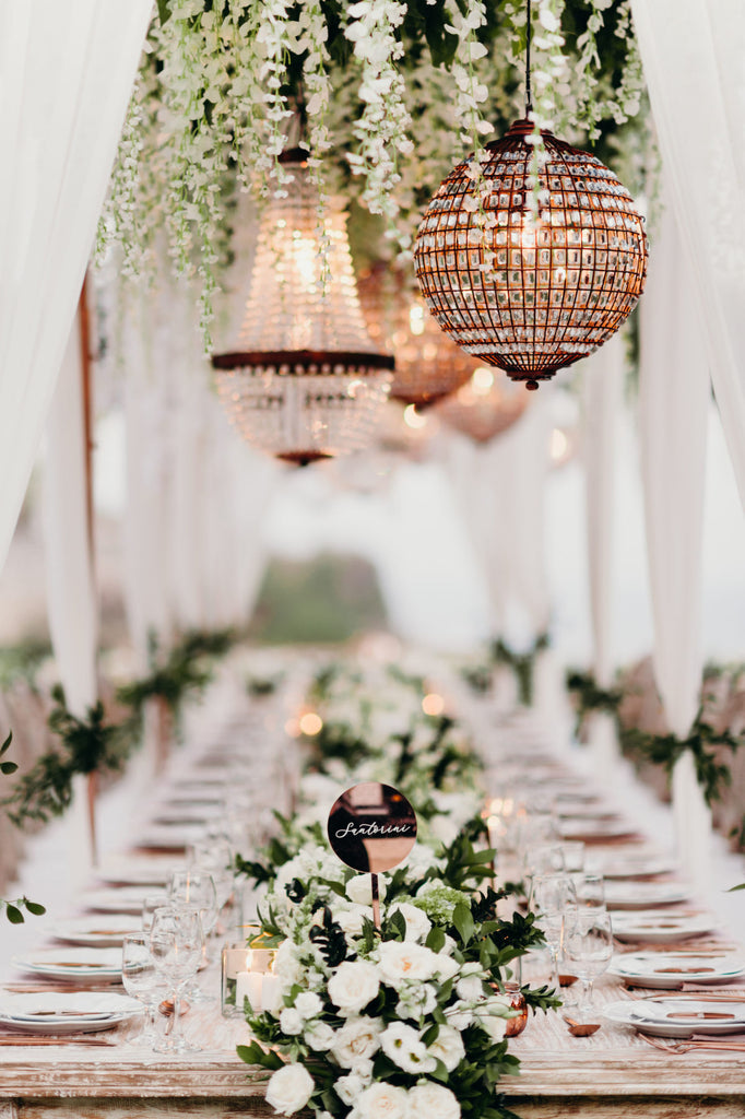 Hannah Polites Wedding Table Decorations