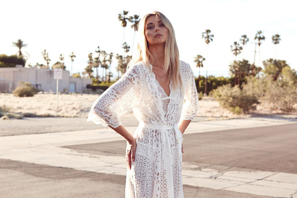 Willow Bohemian Lace Robe