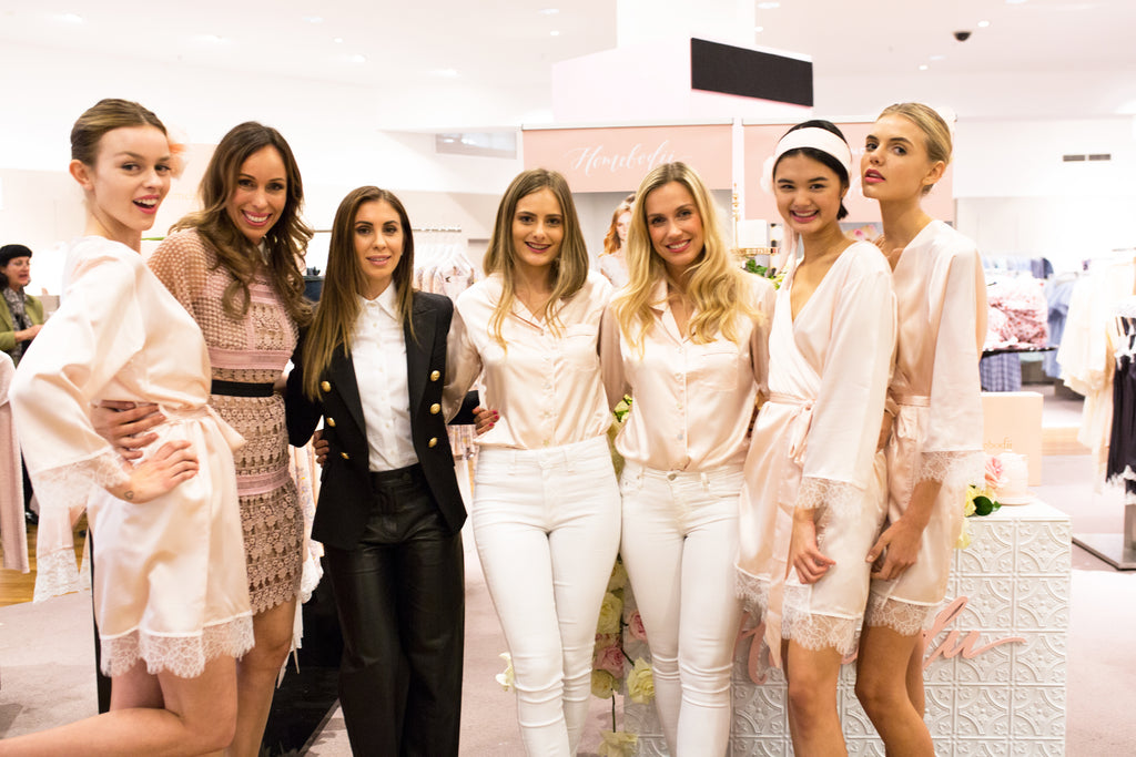 Vogue Fashion Night Out in Sydney with Sleepwear and Bridal Robe brand Homebodii