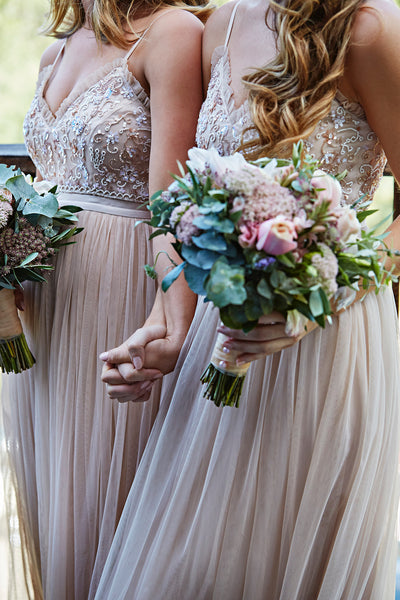 Homebodii Real Bride Bridesmaid Dresses