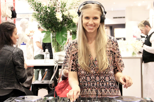 DJ at David Jones Girls Night Out