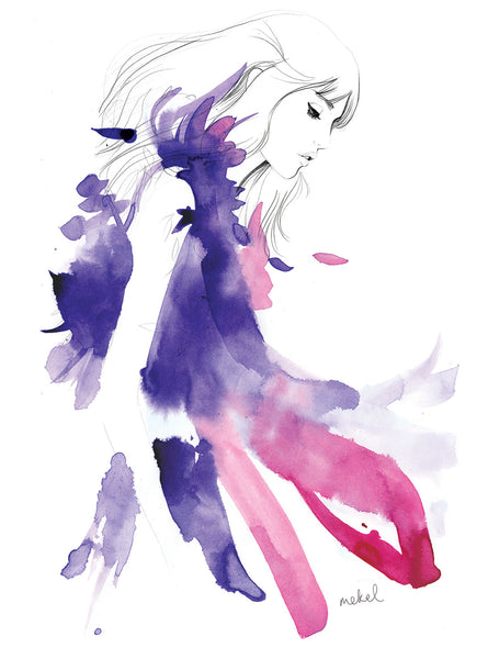 Australian Fashion Illustrator Mekel Interview with Homebodii