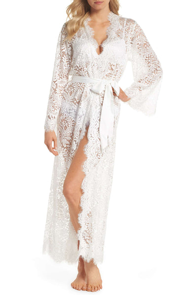 Nordstrom - Homebodii Anemone Lace Bridal Robe