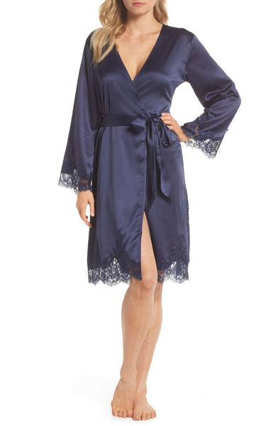 Nordstrom - Homebodii Olivia Robe in Navy