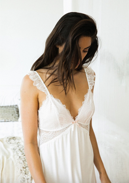 sustainable white nightie