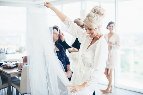 Whimsical Bridal robes