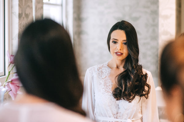 Real Bride bridal party getting ready