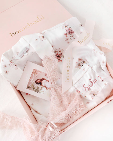 personalised pyjama gift pack