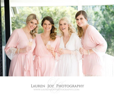 Bridesmaid Robes, bridal Robes, homebodii