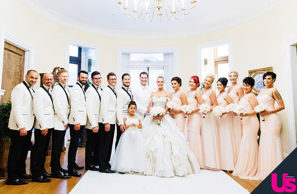 Peta Murgatroyd Wedding Party
