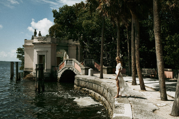 vizcaya museum and gardens photoshoot