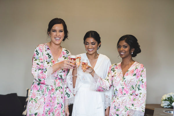 Homebodii Real Bride Bridesmaid Robes