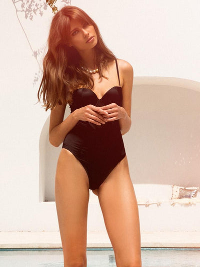 Brooklyn Bodysuit - Black - Homebodii