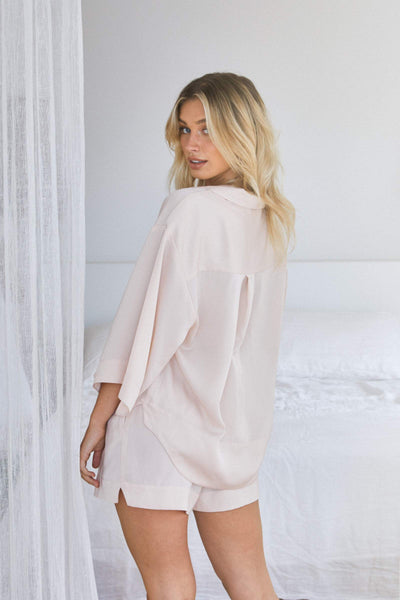 Oasis Short PJ Set - Blush