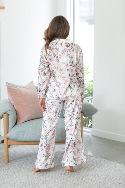 Botanica PJ Lounge Set - Blush - Homebodii