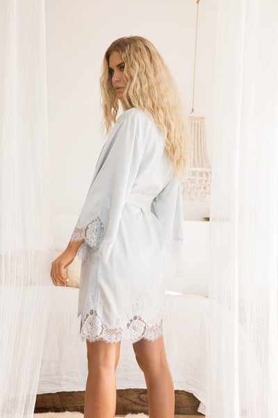 Olivia Robe - Eggshell Blue - Homebodii