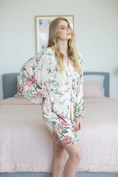 Natice Short Robe - Homebodii